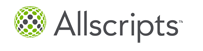 Allscripts Billing Company