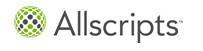 Allscripts Billing Company